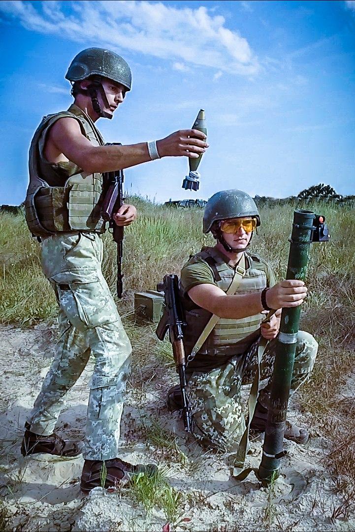 60 Mm Mortar Launcher And Ammunition